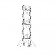 Скеле алуминиево KRAUSE Stabilo H=12.4м, 2000х700мм, 200кг/кв.м, с колела