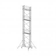 Скеле алуминиево KRAUSE Stabilo H=13.4м, 2000х700мм, 200кг/кв.м, с колела