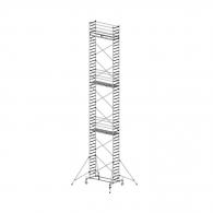 Скеле алуминиево KRAUSE Stabilo H=14.4м, 2000х700мм, 200кг/кв.м, с колела
