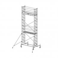 Скеле алуминиево KRAUSE Stabilo H=7.4м, 2000х700мм, 200кг/кв.м, с колела