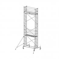 Скеле алуминиево KRAUSE Stabilo H=8.4м, 2000х700мм, 200кг/кв.м, с колела