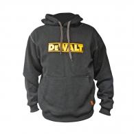 Суичър DEWALT Hooded Black XL, черен, с качулка