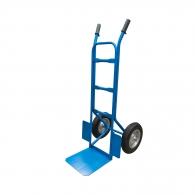 Транспортна количка АМЦ МЕТАЛ 150кг, 330х330мм, с бандажни колела 335мм, стомана