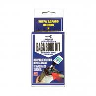 Универсално секундно лепило SPANNER BAGA BOND KIT, 80мл, гелообразно, с комплект сива и черна пудра