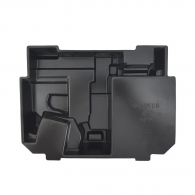 Вложка за куфар MAKITA Makpac 2, полипропилен, черна, за BPT350, DPT350, BPT351, DPT351, DST110