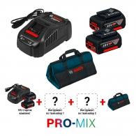Акумулаторен стартов комплект BOSCH PRO-MIX 18V, 18V, 5.0Ah, Li-Ion