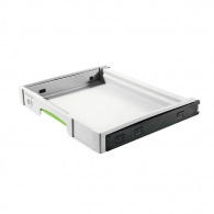 Чекмедже за инструменти FESTOOL SYS-AZ-Set, 425х376х57мм, пластмаса, бял, SYSTAINER, T-LOC, SORTAINER
