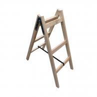 Дървена стълба ЕКО 2x3, 1000мм, двустранна, домашна употреба