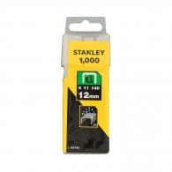 Кламери STANLEY 11/12мм 1000бр., тип 11/G, плоска тел, кутия