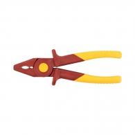 Клещи комбинирани KNIPEX 180мм, пластамсови, двукомпонентна дръжка, 1000V