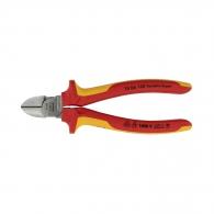 Клещи резачки KNIPEX ф2.0-4.0/160мм, VS, двукомпонентна дръжка, 1000V