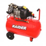 Компресор RAIDER RD-AC03, 100l, 8bar, 310l/min, 2.2kW, 2.0hp, 230V