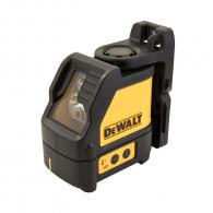Линеен лазерен нивелир DEWALT DW088CG, 2 лазерни линии, точност 3mm/10m, автоматично