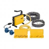 Машина за почистване на тръби и канали REMS COBRA 22 Set, 750W, 740об/мин, 20-150мм