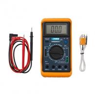 Мултиметър дигитален FERVI T050, АC: 0.2/750 V ± 1.0-2.0%, DC: 0.2-1000V ±0.5-2.0%