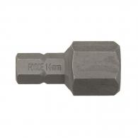 Накрайник шестограм за ударна отвертка FORCE 14x30мм, C8, S2