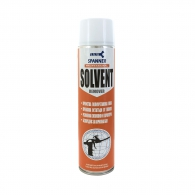 Почистващ препарат SPANNER SOLVENT 800мл, за почиства на пяна, лепило