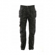 Работен панталон DEWALT Pro Thurlston Trouser Black 34х33, черен