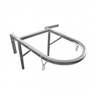 Стенен окачвач за закрепване на улей TEKCNOPLAST, стомана, поцинкован