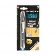 UV ремонтен гел писалка BLUFIXX LPV 5гр., бук, за ламинат, паркет и винил, к-кт със светодиод
