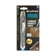 UV ремонтен гел писалка BLUFIXX LPV 5гр., тъмен дъб, за ламинат, паркет и винил, к-кт със светодиод