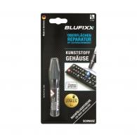 UV ремонтен гел пълнител BLUFIXX 5гр., черен, за пластмасови корпуси, клавиатури и телефони