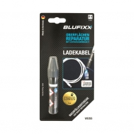 UV ремонтен гел пълнител BLUFIXX 5гр., бял, за кабелни обшивки на зарядни устройства