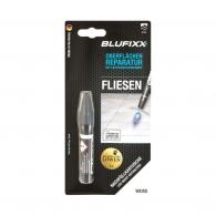UV ремонтен гел пълнител BLUFIXX FLIESEN 5гр. бял, за плочки, гранит и мрамор