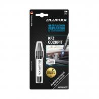 UV ремонтен гел пълнител BLUFIXX 5гр., антрацит, за пластмасов интериор на автомобили