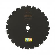 Диск циркулярен за рязане STIHL 225x20мм Z=24, на дървовидни храсти и тънки стебла