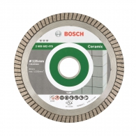 Диск диамантен BOSCH 125х2.0х22.23мм, за гранитогрес, фаянс, теракота, гранит и мрамор