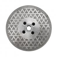 Диск диамантен DIMO 125x2.2мм/M14, за мрамор, сухо рязане и шлайфане, с фланец
