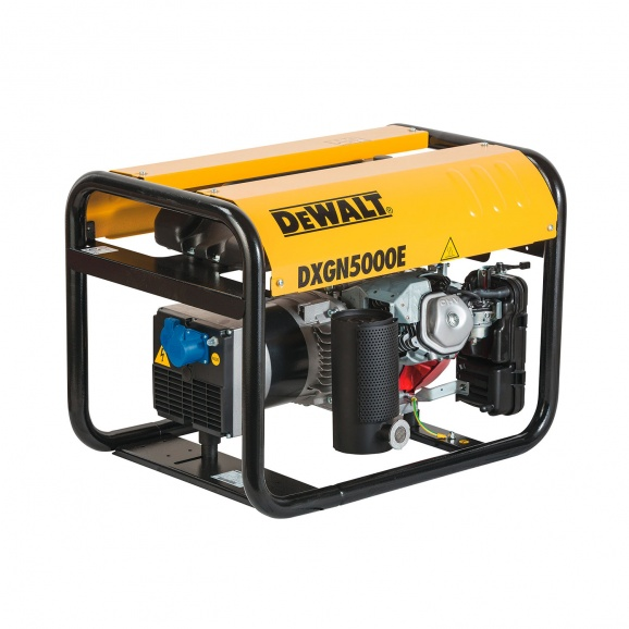Генератор DEWALT DXGN5000E, 4.4kW, 230V, бензинов, монофазен