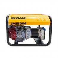 Генератор DEWALT DXGN8000E, 6.3kW, 230/400V, бензинов, трифазен