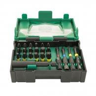 Комплект накрайници HITACHI 23части, PH, PZ, TX, шестостен с магнитен държач