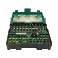 Комплект накрайници HITACHI 60части, PH, PZ, SB, TX, шестостен с магнитен държач