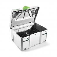 Куфар за инструменти FESTOOL SYS STF D150, пластмаса, бял