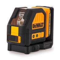Линеен лазерен нивелир DEWALT DCE088D1G, 2 лазерни линии, точност 3mm/10m, 30м, автоматично