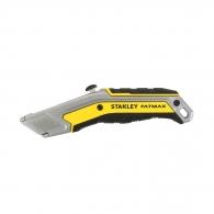 Макетен нож STANLEY FatMax 18х190мм, метален корпус, 5бр резервни остриета