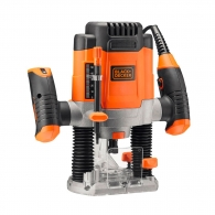 Оберфреза BLACK&DECKER KW1200E, 1200W, 8000-28000об/мин, ф8мм