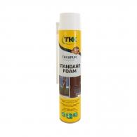 Пяна полиуретанова TKK Tekapur Standard Best Seller, ръчна, лятна (над +5°C), 750мл