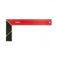 Прав ъгъл SOLA SRC 300х145мм, неръждаема стомана, дърводелски, с алуминиева дръжка