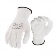 Ръкавици TOPSTRONG, от безшевно плетено трико, топени в латекс, ластичен маншет