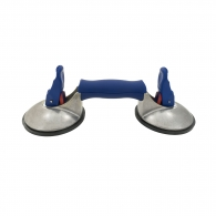 Вендуза двойна за стъкло BOHLE Veribor blue line 50кг, ф120мм, алуминий, с TUV сертификат