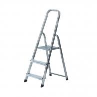 Алуминиевa стълба KRAUSE CORDA 2+1, 550мм(на стълбата), едностранна, за домашна употреба, 150кг.