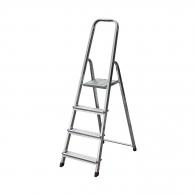 Алуминиевa стълба KRAUSE CORDA 3+1, 800мм(на стълбата), едностранна, за домашна употреба, 150кг.