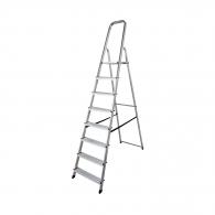 Алуминиевa стълба KRAUSE CORDA 7+1, 1650мм(на стълбата), едностранна, за домашна употреба, 150кг.