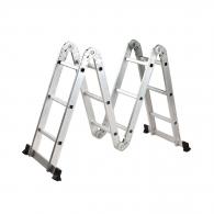 Алуминиевa стълба KRAUSE MultiMatic 4x3, 2950/3050/4400мм(на стълбата), многофукционална, сгъваема, 150кг.