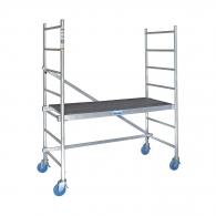 Скеле алуминиево KRAUSE RollTec, 0.90/2.90м, 650x1500мм, 200кг/кв.м