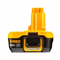 Батерия акумулаторна DEWALT XR DE9182, 18V, 2.0Ah, Li-Ion
